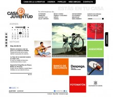 Web Casa de la Juventud de Córdoba